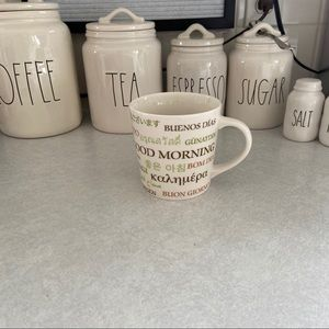 Starbucks 2006 Multi Language Good Morning Mug